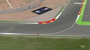 Kecelakaan Marquez di Q2 MotoGP Aragon