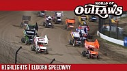 World of Outlaws Craftsman sprint cars Eldora speedway September 22, 2017 | Highlights