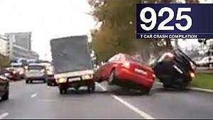 Car crash compilation 925 - October 2017