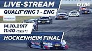 1. Yarış sıralama turları - DTM Hockenheim Final 2017