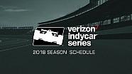 Calendario 2018 de  IndyCar