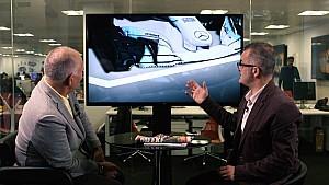 Tech: de Mercedes W08 in Japan