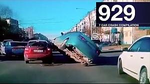 Car crash compilation 929 - October 2017