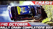Racingfail! Rally crash compilation week 40 October 2017