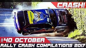 Racingfail! Rally crash compilation week 40 October 2017