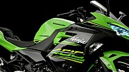 Kawasaki Ninja 400 video de estudio