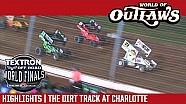World of Outlaws Craftsman sprint cars the dirt track at Charlotte November 4th, 2017 | Highlights