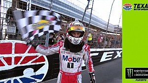 Kevin Harvick on win: 'Damn it's good to be in victory lane here at Texas'