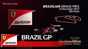 Previo GP de Brasil - Scuderia Ferrari 2017