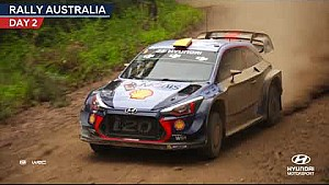 Rally Australia day two - Hyundai Motorsport 2017