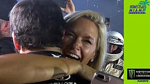 Sherry Pollex, Truex Jr. share emotional moment