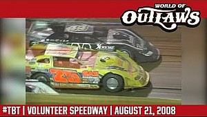 World of Outlaws Craftsman late models Volunteer speedway August 21, 2008 | #ThrowbackThursday