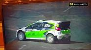 Finale Trofeo WRC | Della Casa finisce contro le barriere!