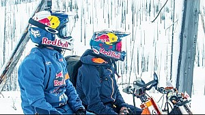 Evolving & adapting the sport of snowbiking | Powder Hounds E2