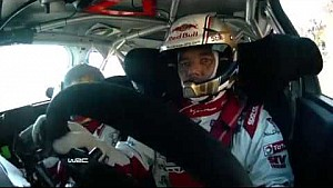 Rally Monte-Carlo 2015: onboard Loeb SS10