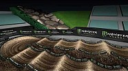 Monster Energy Supercross: 2018 Anaheim 1 animated track map