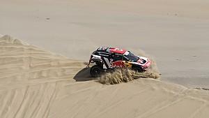 Resumen Etapa 2 Dakar 2018 (coche y moto)