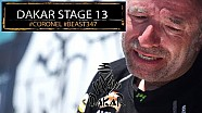Dakar beast bites hard in stage 13 for Tim and Tom Coronel 2018