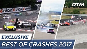 Best of crashes 2017 - DTM exclusive