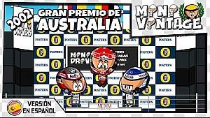 El GP de Australia 2002 de F1, por MiniDrivers