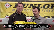 Dunlop motorcycle tires track conditions report - Glendale