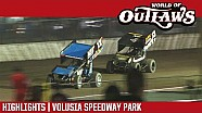 World of Outlaws Craftsman sprint cars Volusia speedway park February 9th, 2018 | Highlights