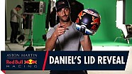 Daniel Ricciardo reveals his helmet design for the Australian Grand Prix