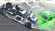 Choque de Chase Elliott, Brad Keselowski y Danica Patrick en Daytona