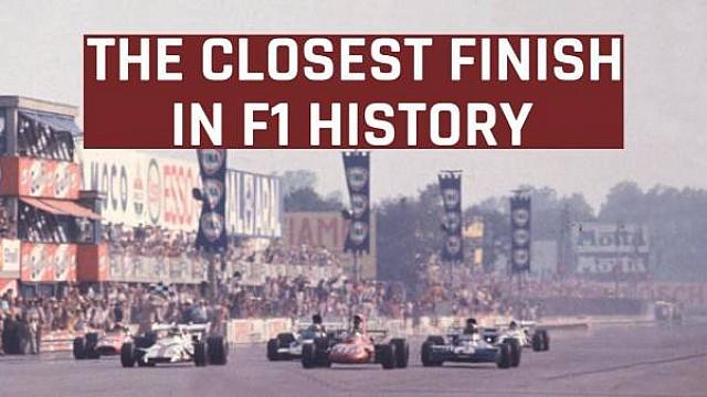 Formula 1 Motorsport Stories: Closest finish