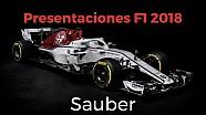Presentación del Sauber F1 2018 ESP