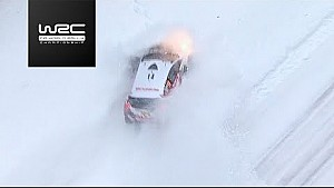 Rally Sweden 2018: aerial clip