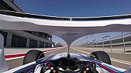 Onboard: Williams FW41 dengan halo