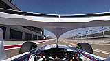 On board de Robert Kubica en el Williams FW41 en Motorland