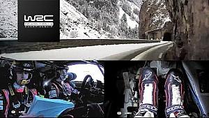 Rally Monte-Carlo 2018: onboard Mikkelsen SS09
