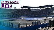 Shakedown en vivo. Vista previa de la carrera