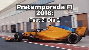 Motorsport Shorts: segundo día de la segunda sesión de pruebas de F1 en Barcelona LAT