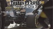 Testes F1 2018: Teste 2, Dia 3