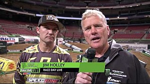 Chad Reed - St. Louis - race day live 2018