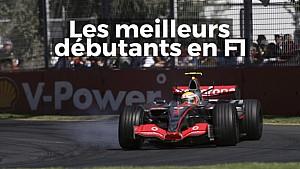 Les meilleurs débutants en F1