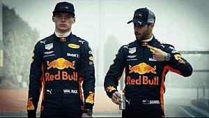 Max Verstappen & Daniel Ricciardo are ready for the 2018 Formula 1 season!