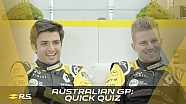 Australian GP: quick quiz