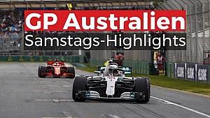 GP Australien: Samstags-Highlights