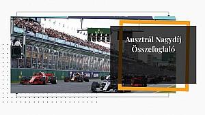 Ausztrál Nagydíj: Futam összefoglaló