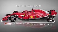 Comparaison entre les Ferrari F1 2018 et 2017
