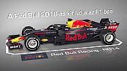 Red Bull RB13 vs. Red Bull RB14: magyar nyelvű F1-es animáció