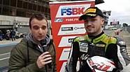 Live avec Jérémy Guarnoni, vainqueur en Superbike