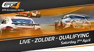 GT4 European series  - Zolder 2018 - qualifying