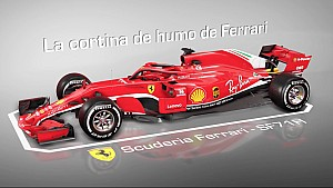 La cortina de humo del Ferrari SF71H