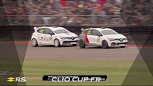 2018 Clio Cup France - round 1 - Nogaro - race 2 - highlights