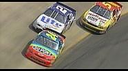 Bump and run: Gordon moves Rusty in 1997